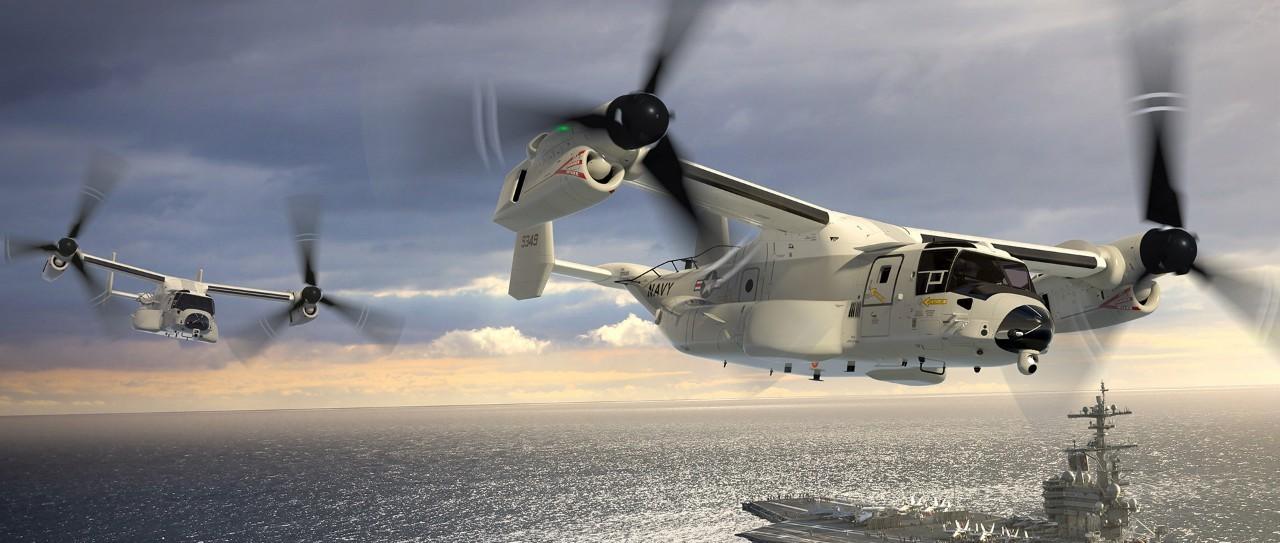 美国组建新型多用途后勤舰载机联队