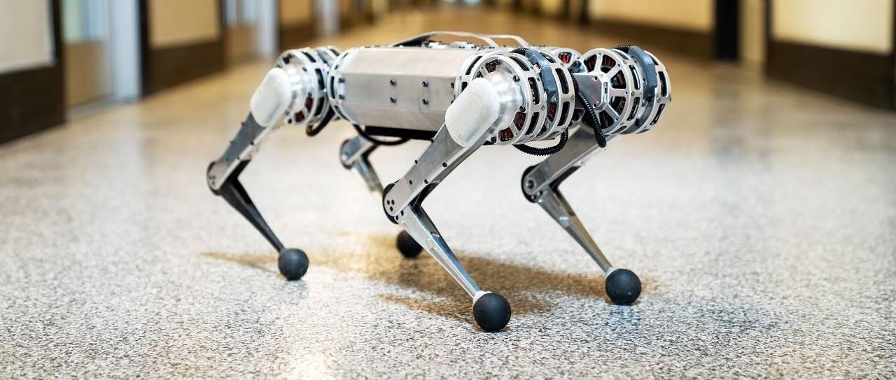 MIT 后空翻猎豹 Mini Cheetah 最新进展:采用全新控制策略,一秒跑出十倍体长