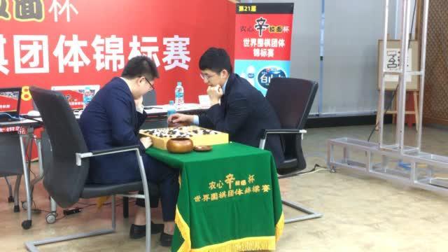 杨鼎新狙击金志锡, 三连胜啦 ()
