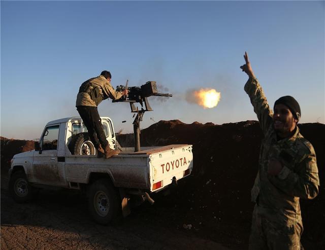 土地换保护,大马士革刚跟库尔德达成协议,向土耳其开战收回水坝