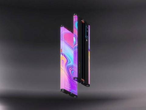 8英寸小米Mix Alpha2概念手机曝光,小米Mix3白菜价,感动