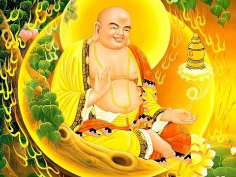 为什么很多寺庙一进门,就是弥勒佛像?