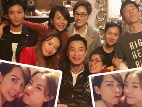 蔡少芬晒聚餐照,陈法蓉、朱茵夫妇同邓丽欣均在其中