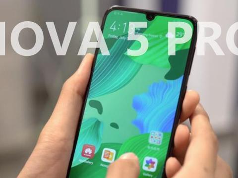 """华为放大招,华为Nova5 Pro跌至""""白菜价"""",网友:很无奈"""