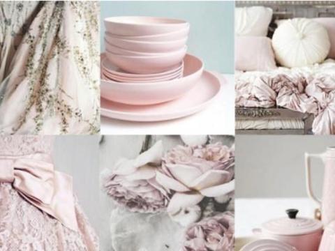 春季种草:美到极致的藕粉色,这4种搭配最显白,高级,绝对收藏