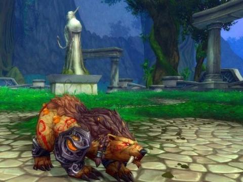 魔兽世界怀旧服小副本包括练级都是熊T优势?唯一缺点是没有反恐