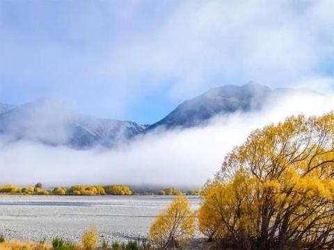 在新西兰,4小时就能过完四季?