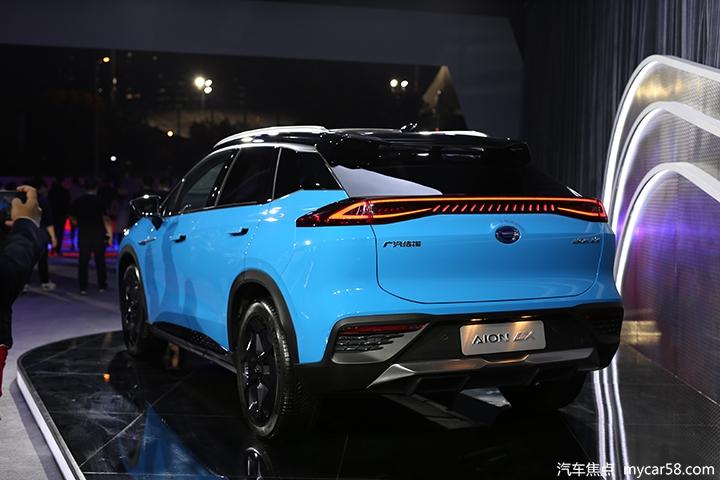 广汽新能源Aion LX售24.96万元起,亮点不止续航和性能?