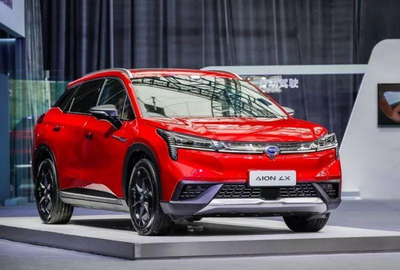 广汽新能源Aion LX上市 售价24.96-34.96万元