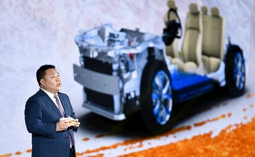 """""""油电""""并行发力 一汽奔腾发布全新平台四大产品线"""
