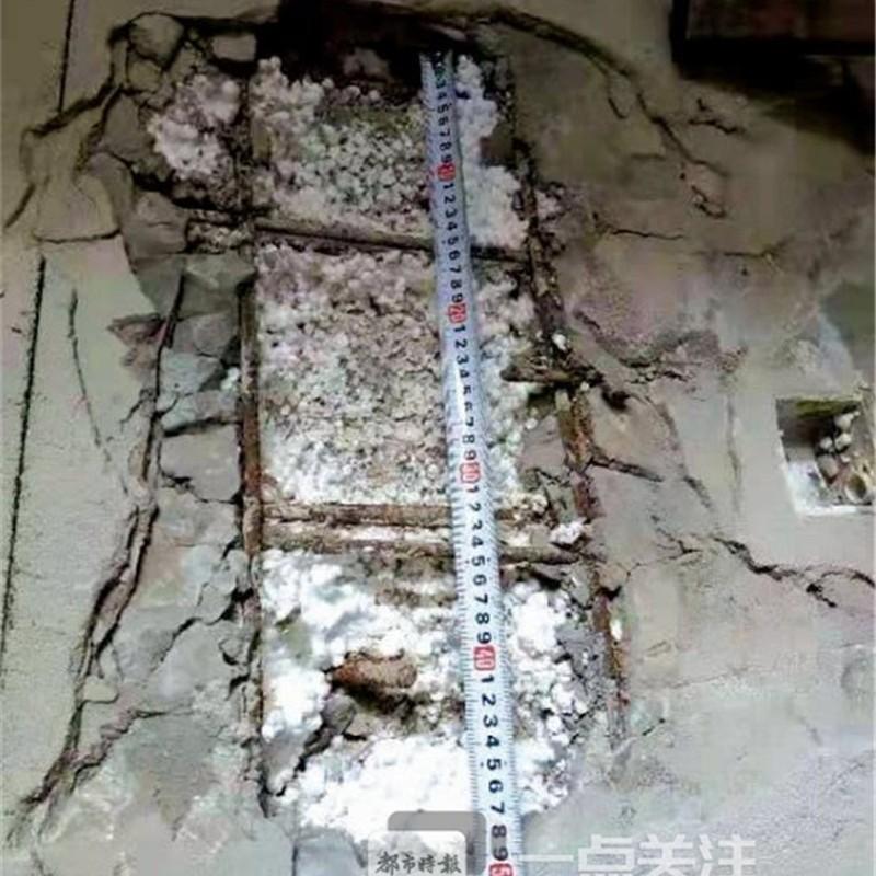 昆明业主愤怒投诉:承重墙里有泡沫塑料!开发商:设计问题,只是一些瑕疵,不影响房子质量