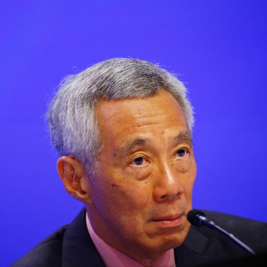 新加坡总理李显龙痛斥乱港分子
