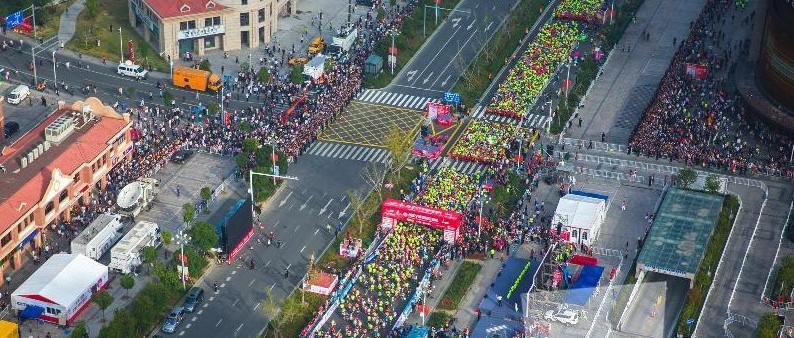 备受瞩目的2019宁波国际马拉松下周开跑!杭州湾新区部分路段交通管制今天开始