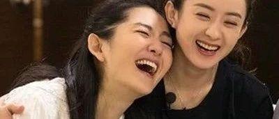 生日祝福玄机大,张碧晨取代谢娜成赵丽颖最大闺蜜?