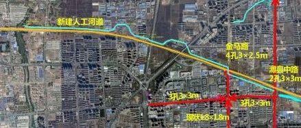 建人工河!潍坊玉清街、志远路片区积水将这样排!