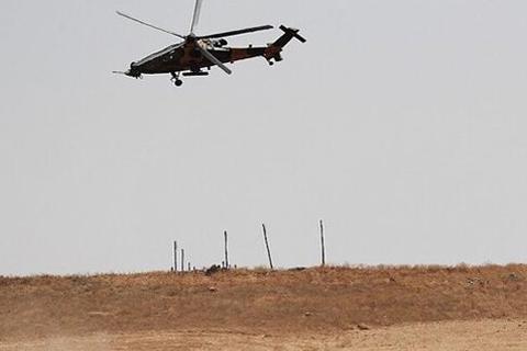 突发!土耳其一架军用直升机在叙利亚坠毁,此前正轰炸库尔德人