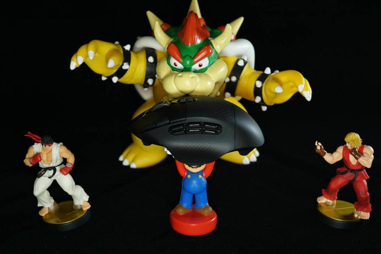 无线鼠标新中坚:罗技G604双模游戏鼠标
