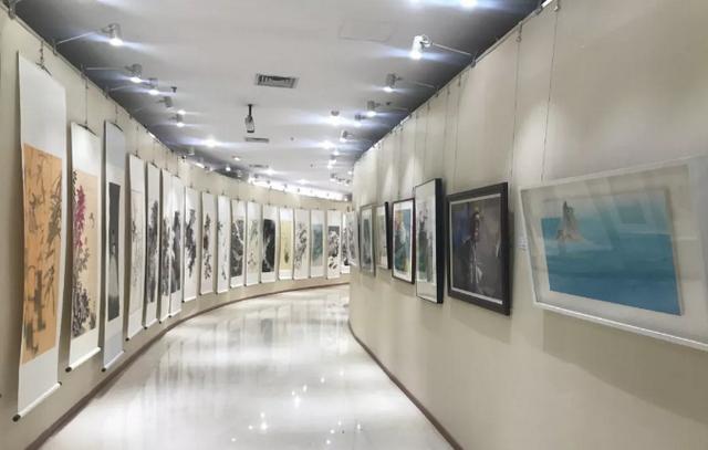 庆祝新中国成立70周年第二届新文艺群体书画家作品展,曹金华入选
