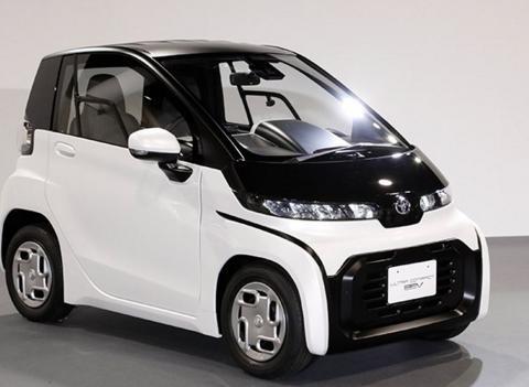 """丰田发布了电动汽车""""超小型EV"""""""