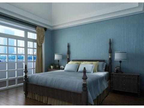 五种纯色墙纸提升居室格调