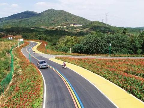 溧阳新增7.5公里彩虹路,一路美景尽收眼底