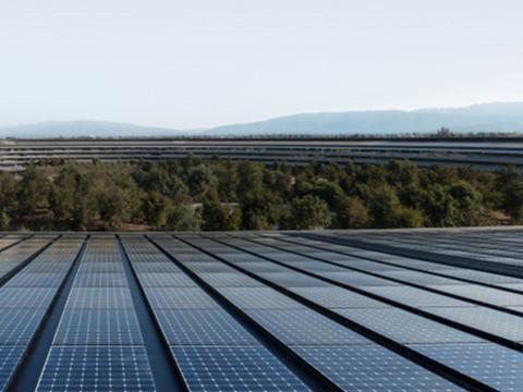苹果正鼓励其供应商通过过渡项目转向清洁能源