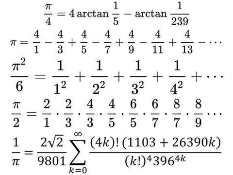 为什么与圆无关的公式中会有圆周率?