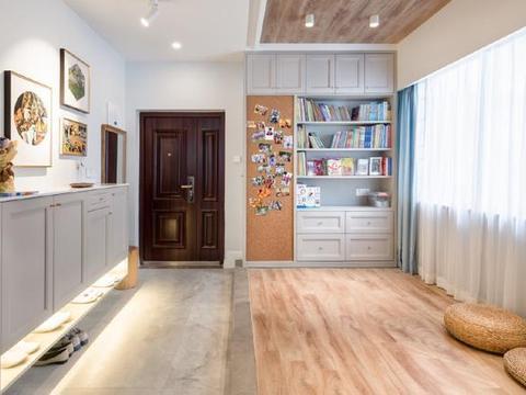 105平米现代简约风,三房变两房,书房变亲子游戏区打造快乐生活