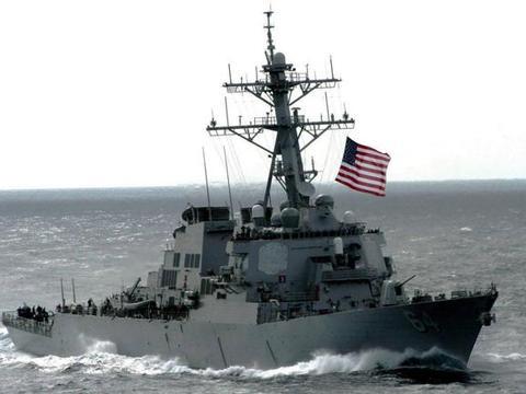美舰刚驶入敏感海峡,就被多艘军舰高速拦截,警告勿阻止自由航行
