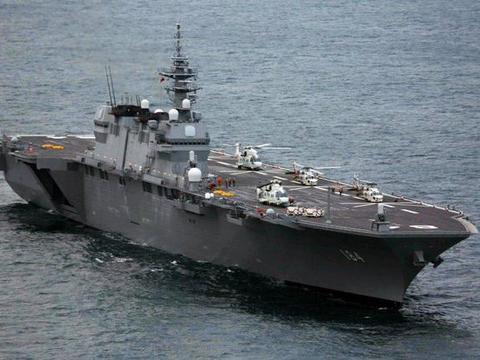 日本藏了多少军事力量,一场台风暴露安倍狼子野心,美国也被骗了