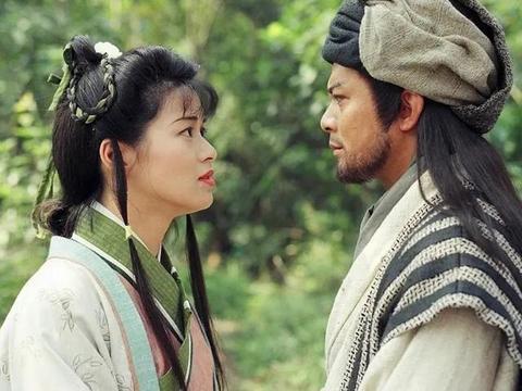 粉丝晒阿朱剧照,年轻时的刘锦玲漂亮有灵气,可惜现在却容颜不再