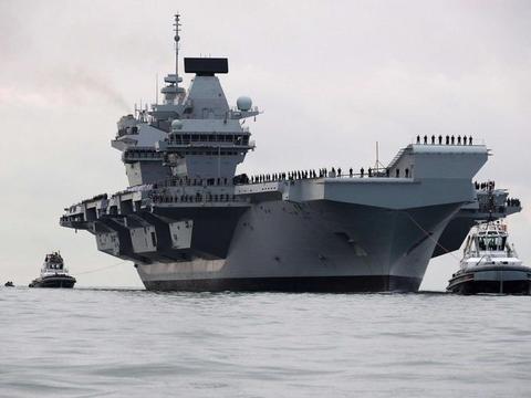 再夺第二航母大国宝座?美盟友第二艘航母曝光,吨位比辽宁舰还大