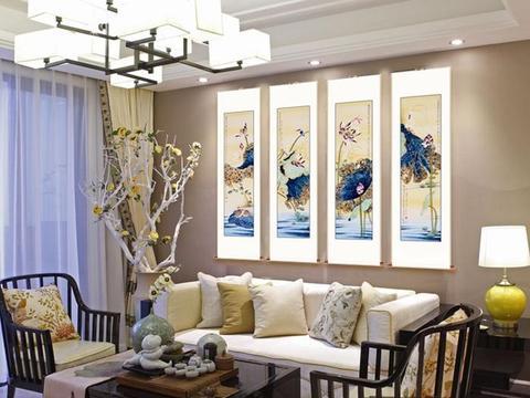 客厅挂什么画好 吉祥花鸟画旺风水寓意佳