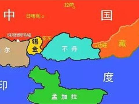 原本中国有15个邻国,为什么这一邻国变成了印度的一个省?