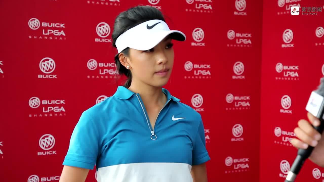 别克LPGA赛第三轮何沐妮采访