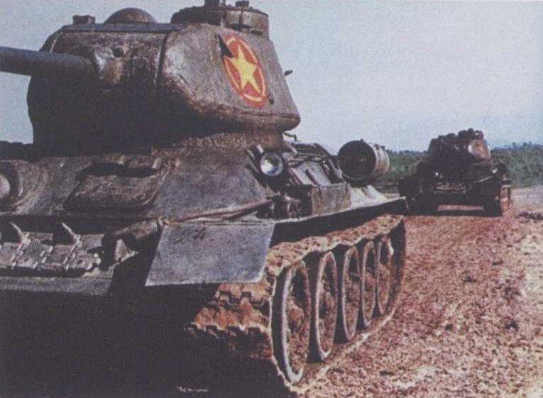 """越南靠中苏支援,号称""""第三军事强国"""",却养不起坦克"""