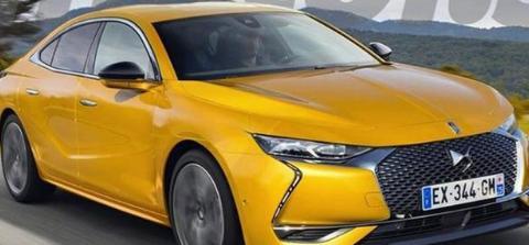 搭载1.6T涡轮增压发动机 DS全新轿车DS9渲染图曝光