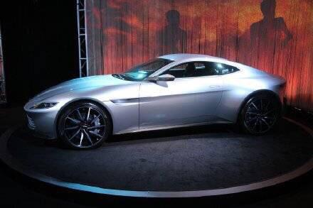 汽车美图大赏:阿斯顿马丁DB10 —— 太帅