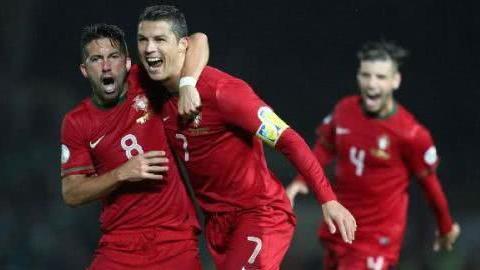 欧洲杯预选赛——C罗劲射挂风, 葡萄牙碾压卢森堡