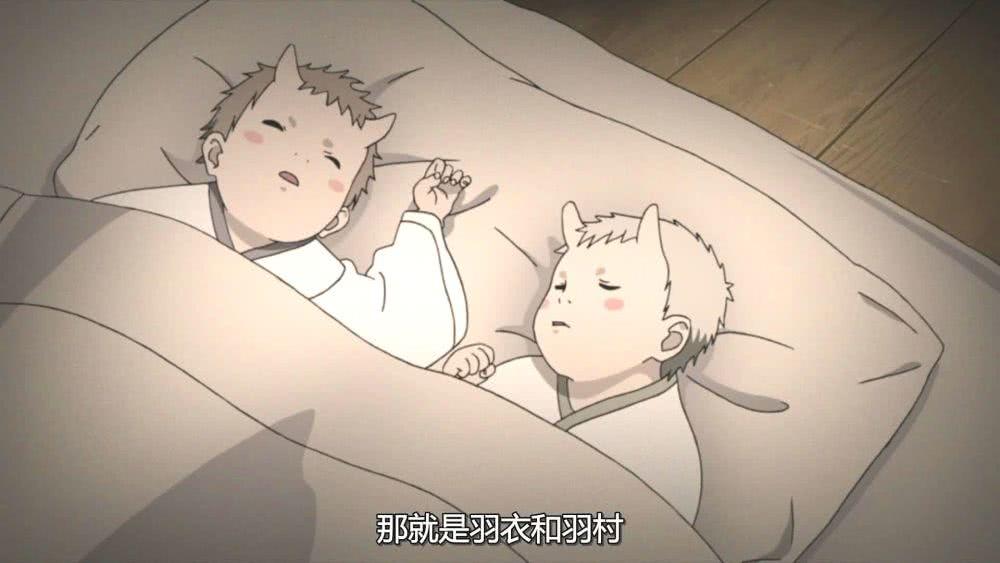 鸣人:我刚出生就有胡须,我爱罗:我有黑眼圈,他俩:我们有角