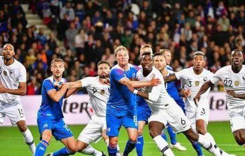 世界杯冠军状态火热大胜冰岛!两场进八球!