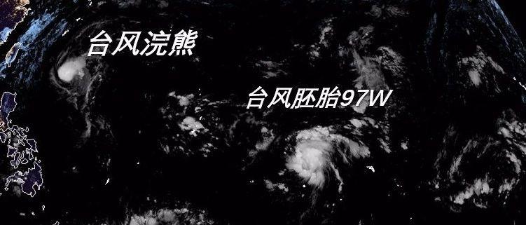 """20号台风""""浣熊""""生成!还有一个大风暴在酝酿!福州接下来……"""