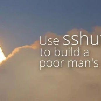 使用 shuttle 构建一个穷人的虚拟专网   Linux 中国