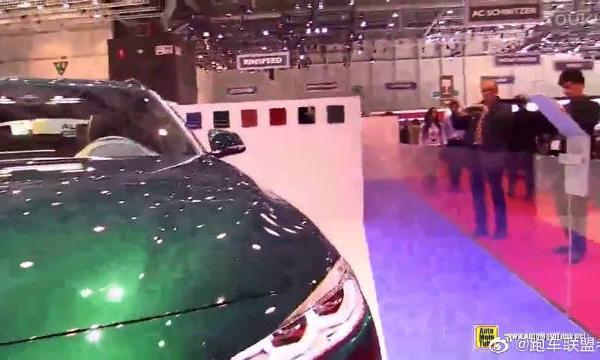 视频:基于3系旅行版改装 车展实拍ALPINA D3