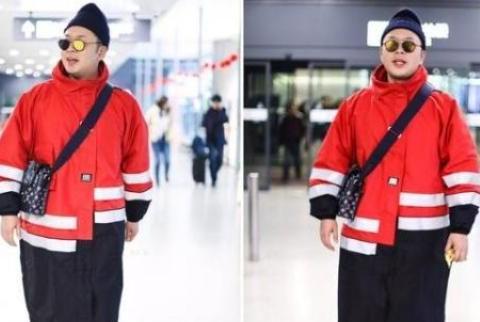 杜海涛穿新衣自赞好身材,网友吐槽:好像环卫工人的工作服