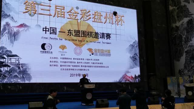 中国围棋协会主席林建超致词 ( )
