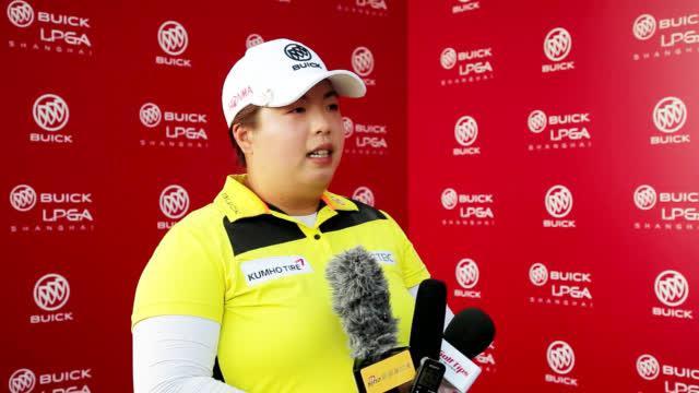 决赛轮,@冯珊珊SHANSHANFENG 打出零柏忌68杆,排名并列14位