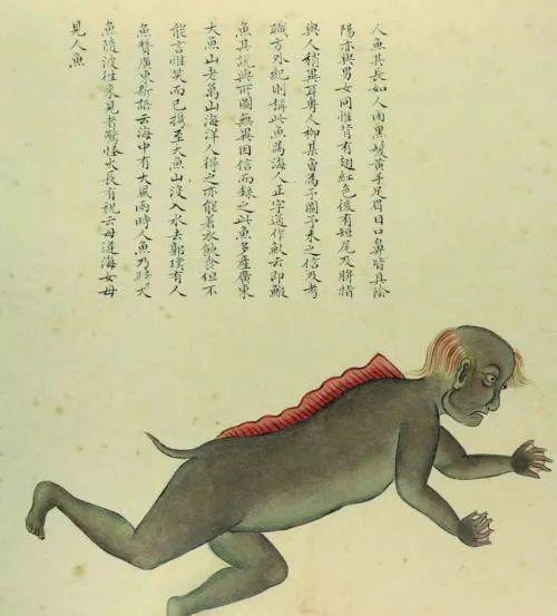 """故宫最神秘的古画,画出""""史前生物"""""""
