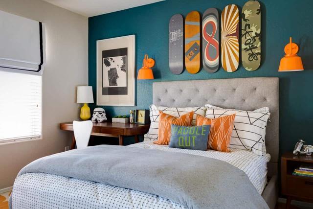 又酷又有趣的儿童卧室装修设计,不同风格的个性化装饰元素