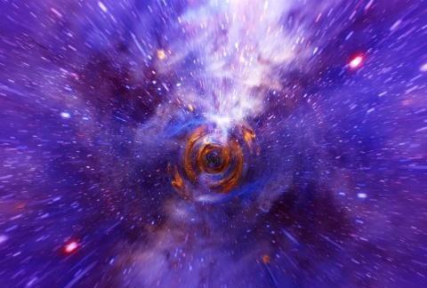 时空隧道其实存在于我们身边,只不过缝隙小到只有粒子可以穿过